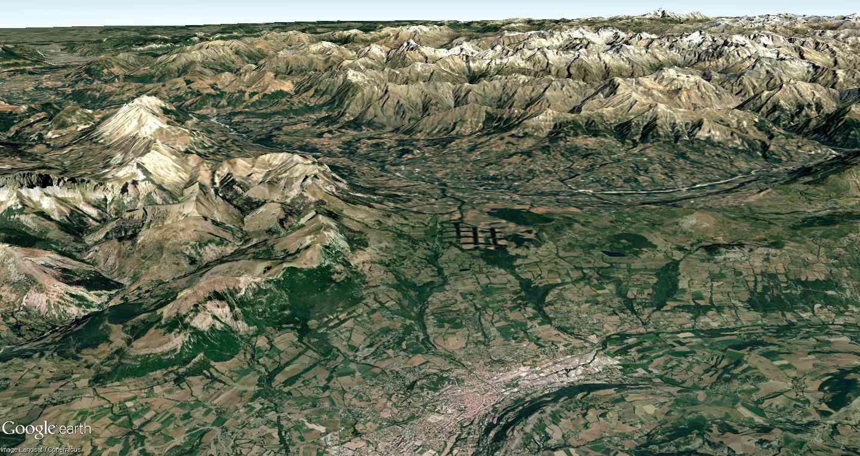 La forêt à damier du col Bayard (Hautes-Alpes) Gap10