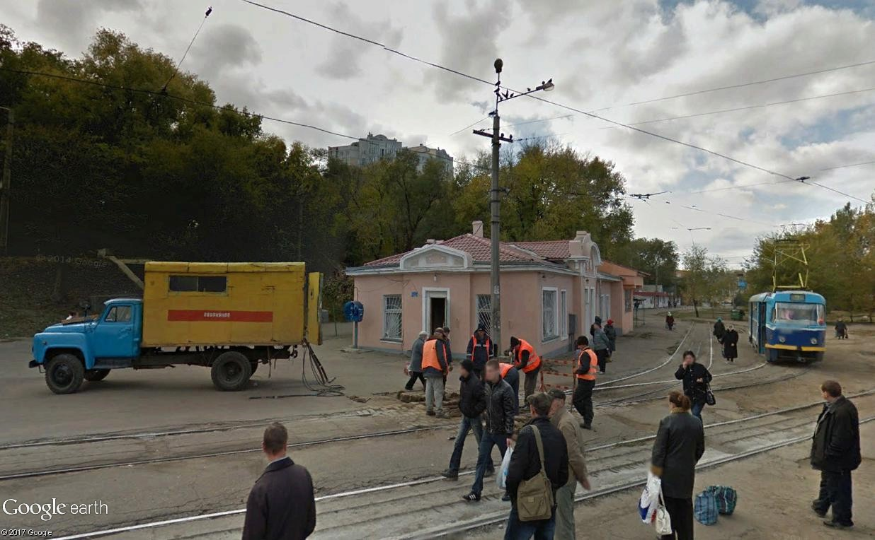 STREET VIEW : les tramways en action - Page 3 Kiev_510