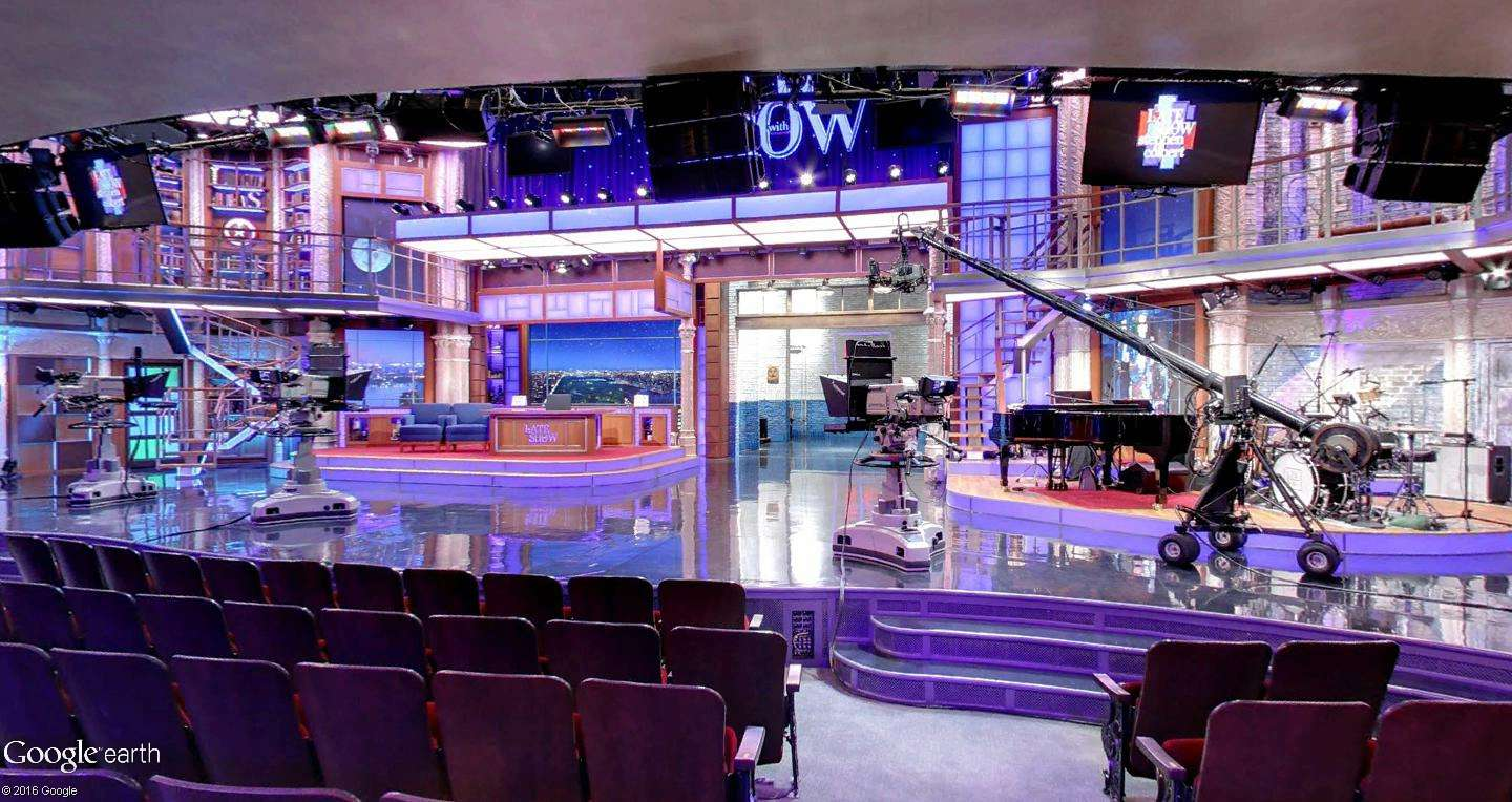 STREET VIEW : The Late Show, enregistré à l'Ed Sullivan Theater de New York Latesh10