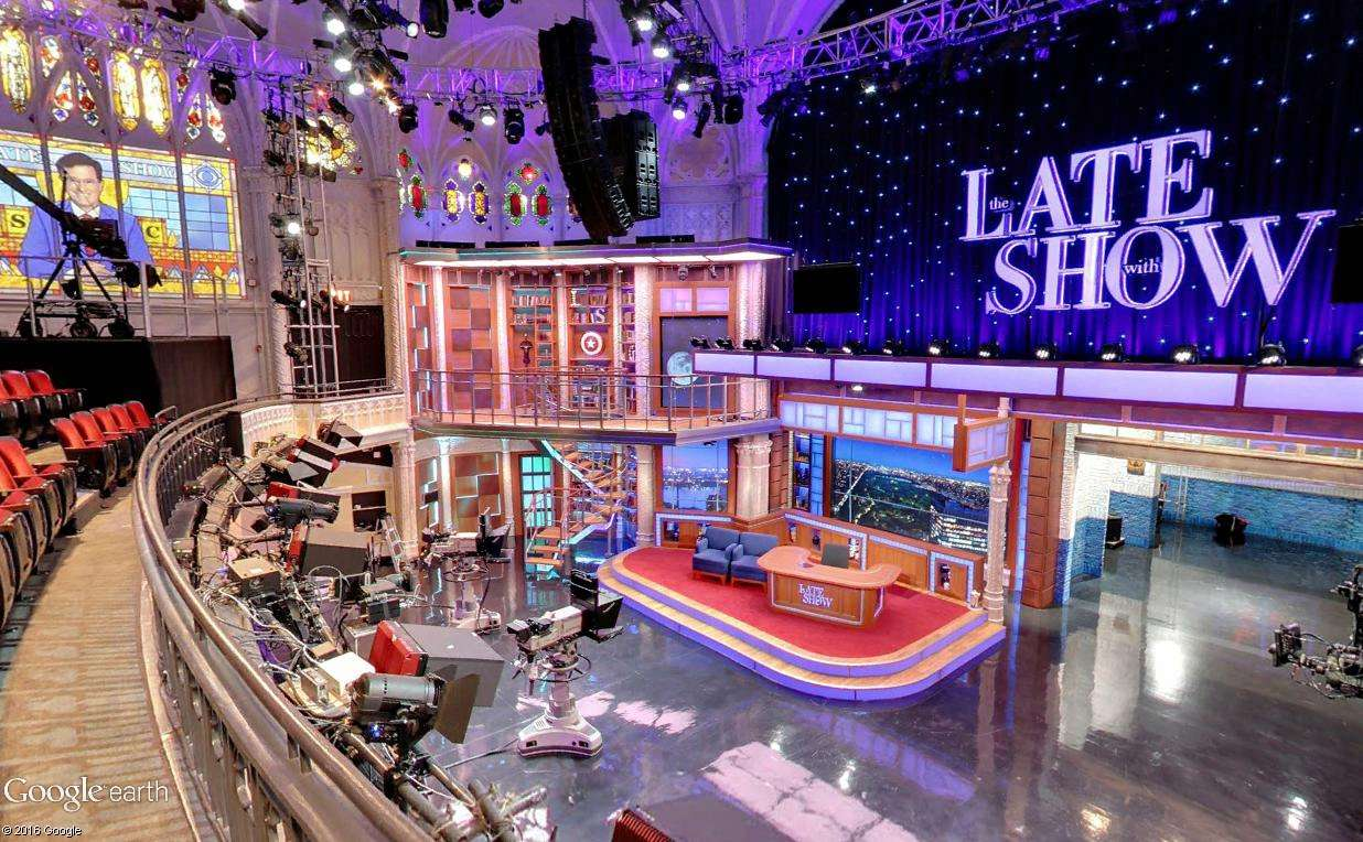 STREET VIEW : The Late Show, enregistré à l'Ed Sullivan Theater de New York Latesh11