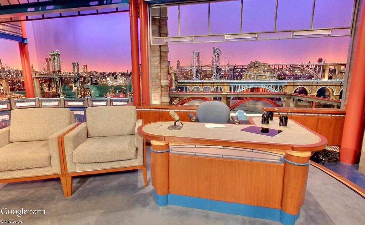 STREET VIEW : The Late Show, enregistré à l'Ed Sullivan Theater de New York Latesh12
