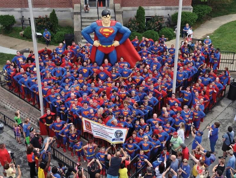 """Métropolis """"ville natale de Superman"""", Illinois, USA Metrop11"""
