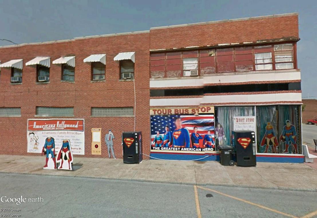 """Métropolis """"ville natale de Superman"""", Illinois, USA Musyes10"""