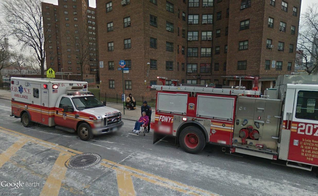 STREET VIEW : à la recherche des interventions de pompiers Ny210