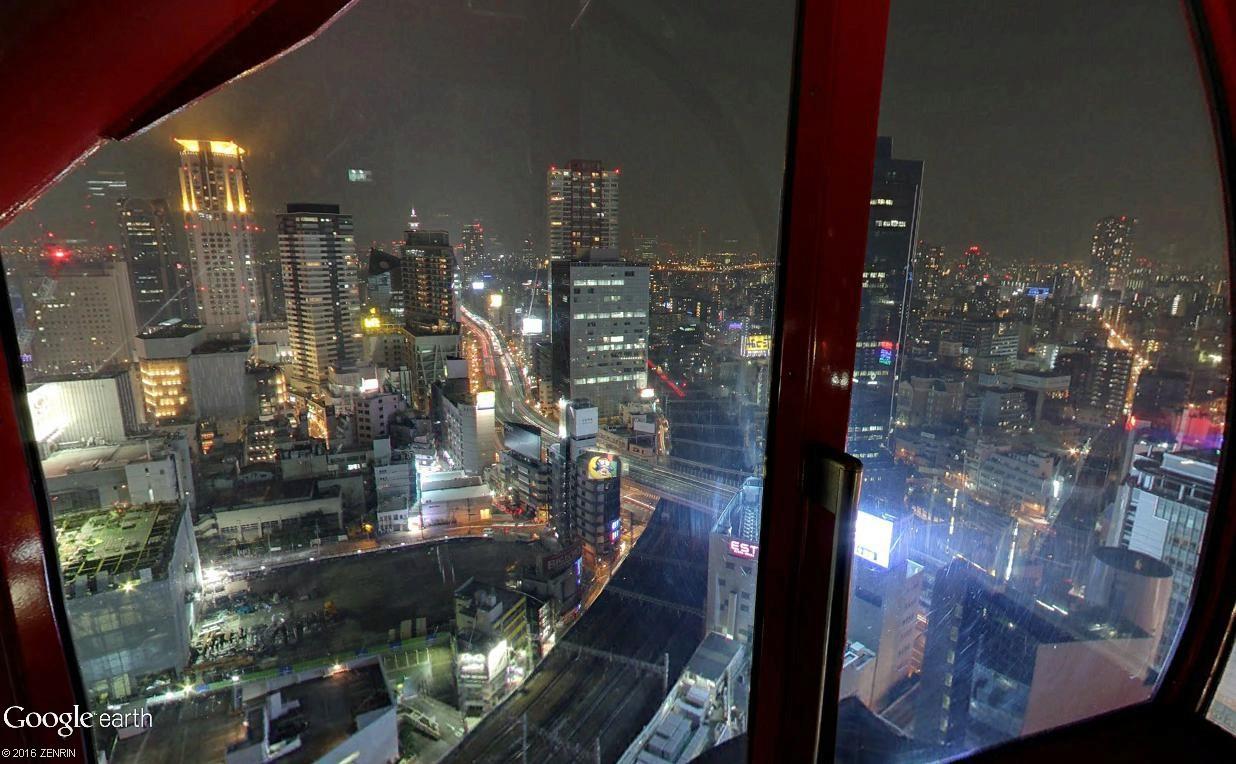 Grande roue sur toit d'Osaka - Japon Osaka210