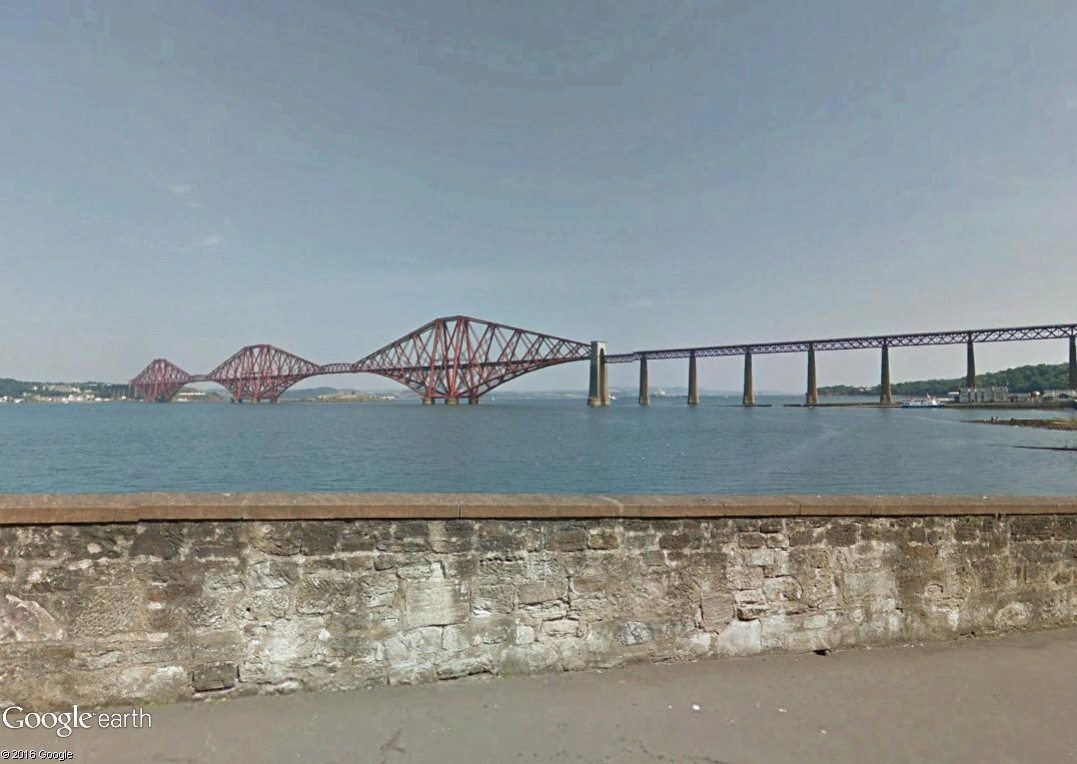 [Désormais visible sur Google-Earth] - Le 3ème pont de Queensferry en Ecosse (Queensferry Crossing)) Queens17