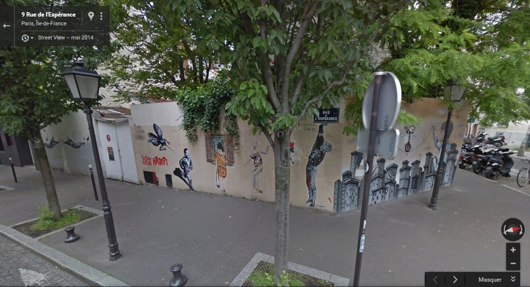 STREET VIEW : street art, grafs, tags et collages - Page 5 Sans_s10