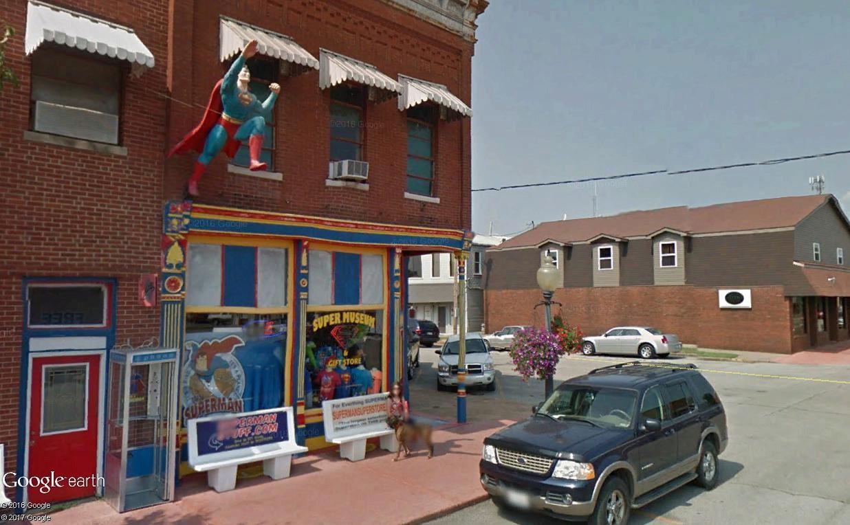 """Métropolis """"ville natale de Superman"""", Illinois, USA Superm13"""