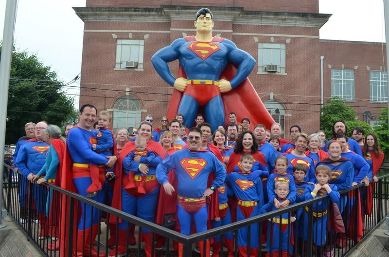 """Métropolis """"ville natale de Superman"""", Illinois, USA Superm15"""