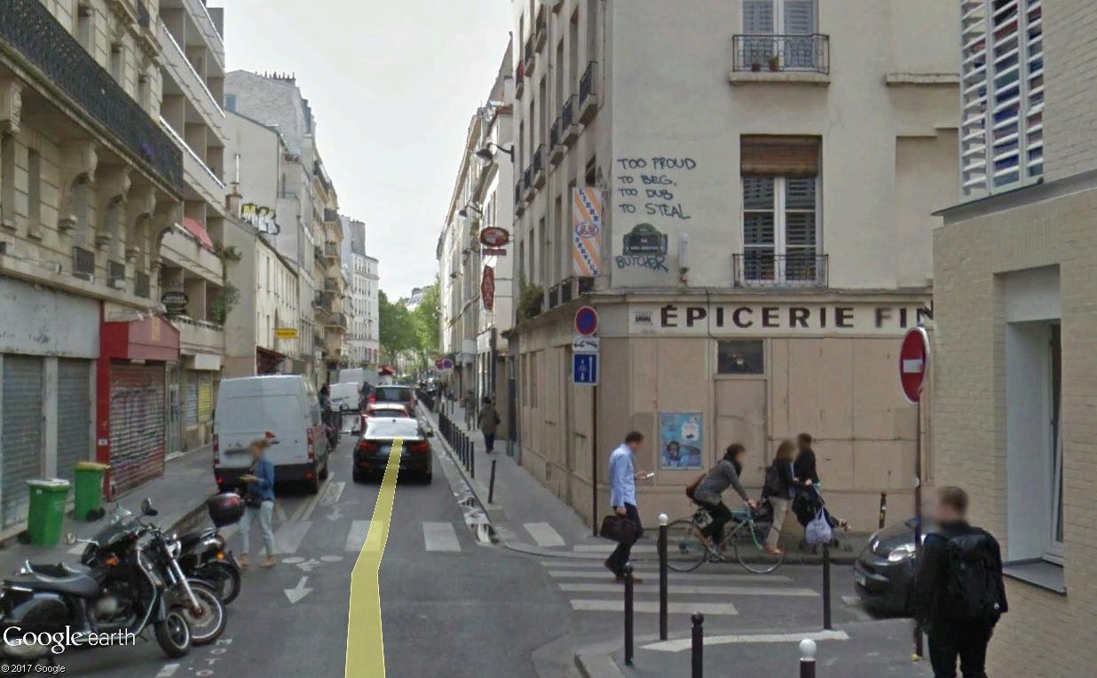 STREET VIEW : street art, grafs, tags et collages - Page 5 Trop_f10