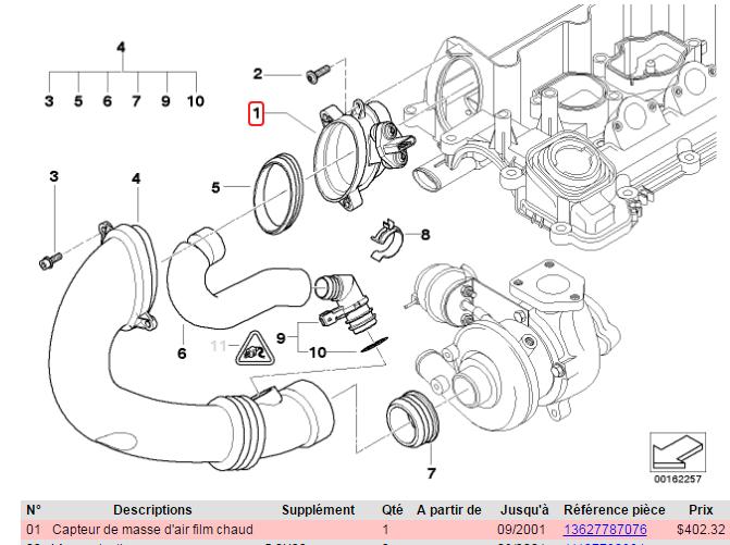 [ BMW E46 320d M47 an 1998 ] Capteur ou débitmètre ? Debitm10