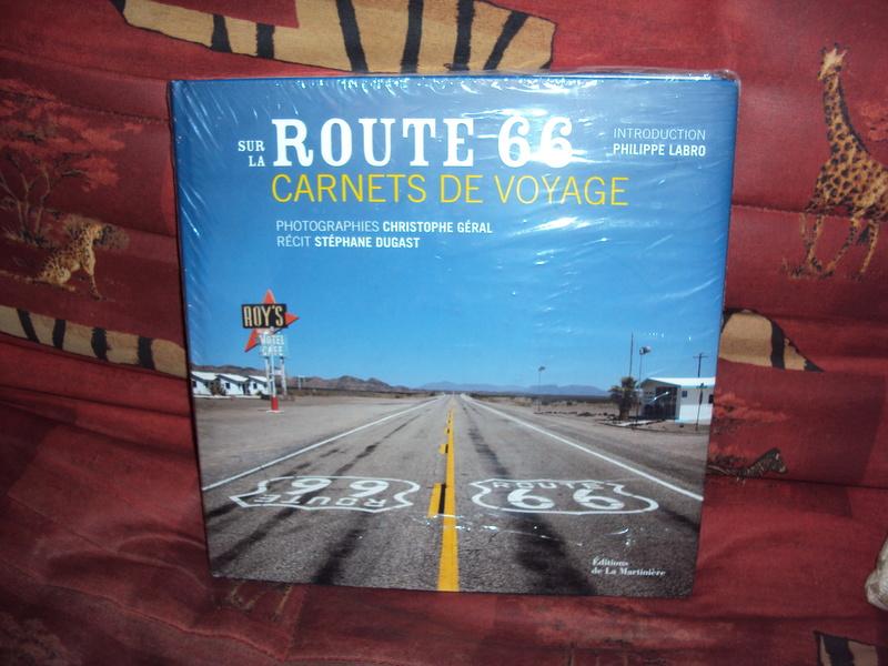 Vends livre Route 66, carnets de voyage Dsc01919