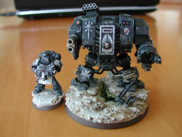 Mon armée de Black Templar en construction Dreadn11