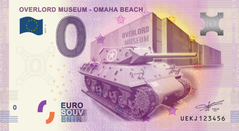 Colleville-sur-Mer (14710)  [Overlord Museum / Omaha Beach] Beach10