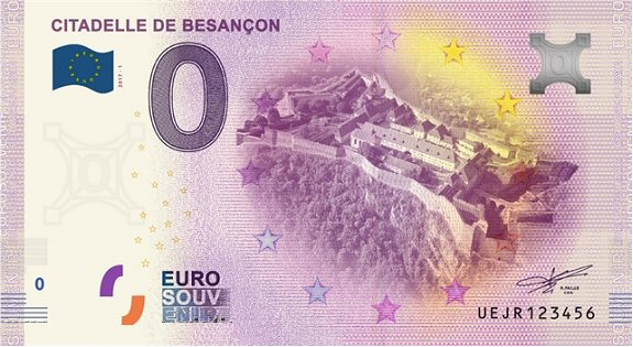 Billets 0 € Souvenirs  = 12 Besanc11