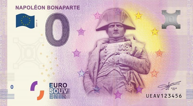 Billets 0 € Souvenirs  [Paris = 81] Bonapa11