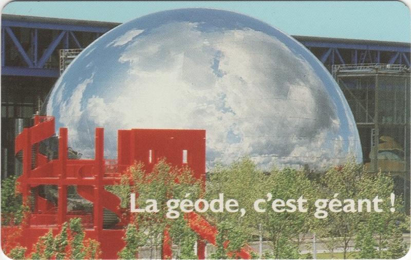 Passeport Cité des Sciences et de l'Industrie Geode10