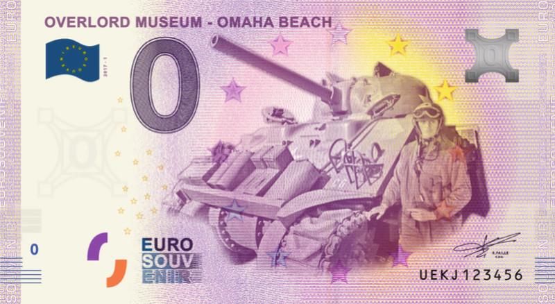 Billets 0 € Souvenirs [Normandie = 51] Omaha10