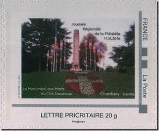 73 - Chambéry - Club Philatélique de Savoie Timbre10