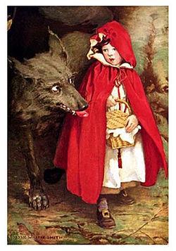 La véritable histoire du Petit Chaperon Rouge en images Chaper14