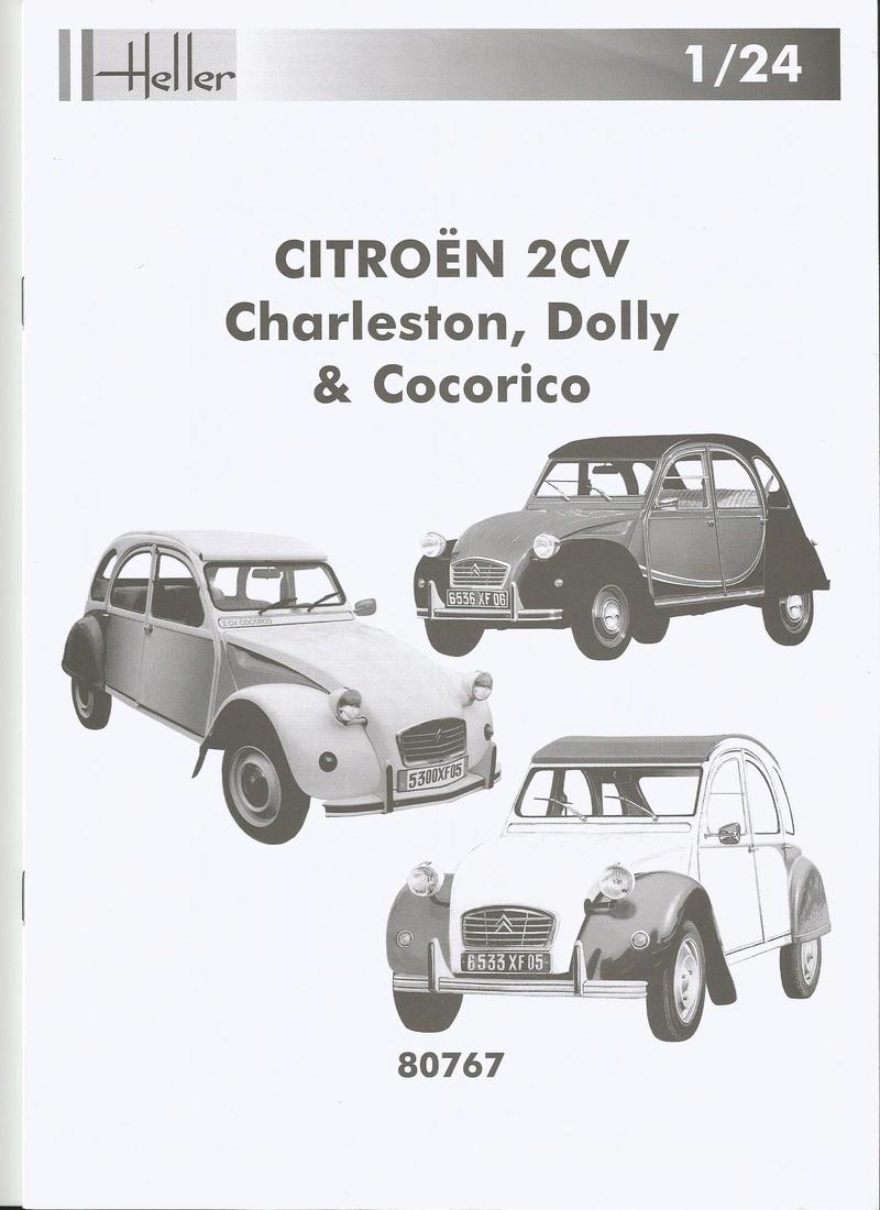 CITROEN 2 CV  cocoricco  dolly  charleston  ref  80767 P2000610