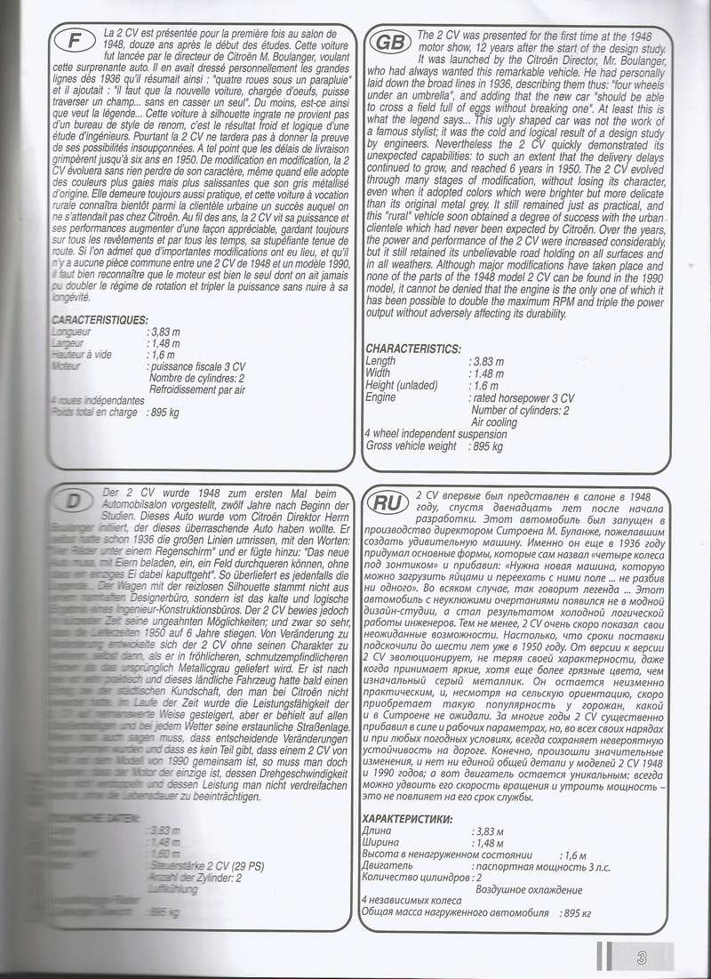 CITROEN 2 CV  cocoricco  dolly  charleston  ref  80767 P2000710