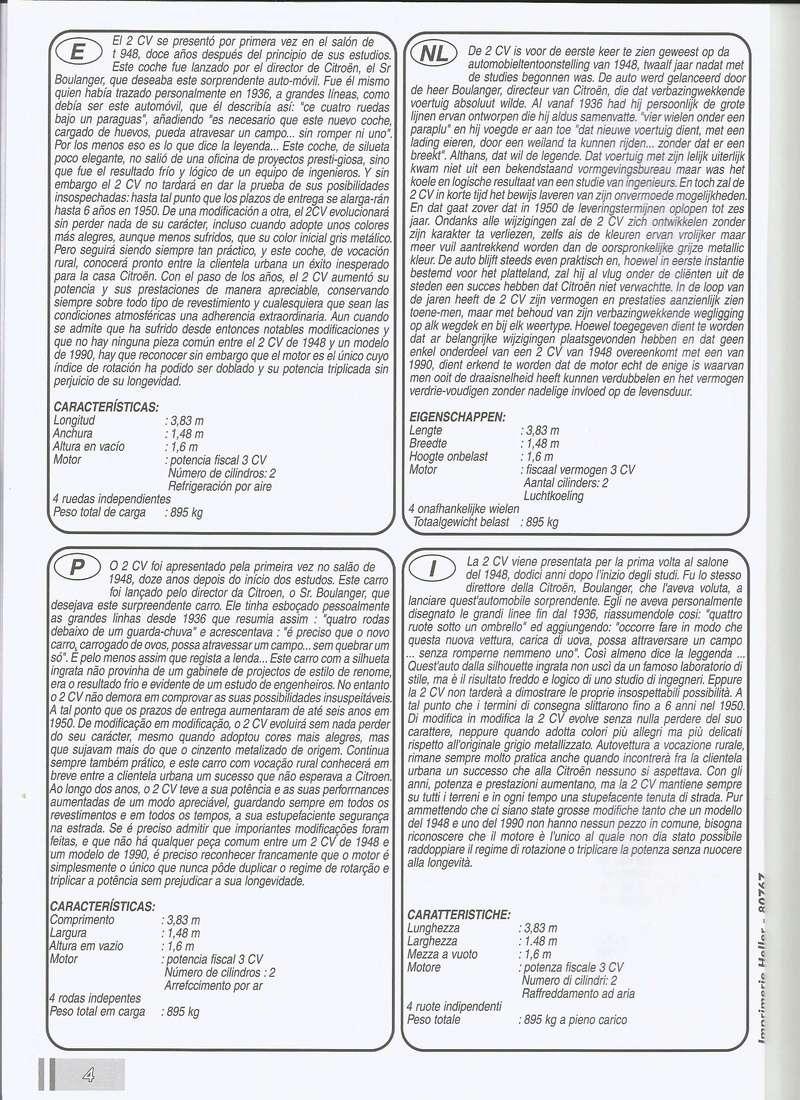 CITROEN 2 CV  cocoricco  dolly  charleston  ref  80767 P2001210