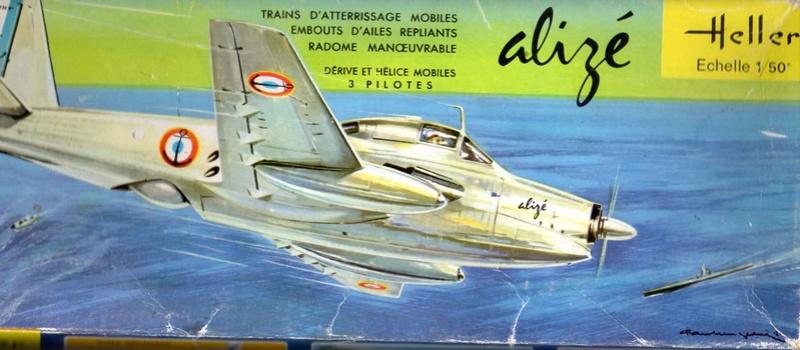 Breguet Alizé au 1/50 en boite Jaune ref :505 Doc10312