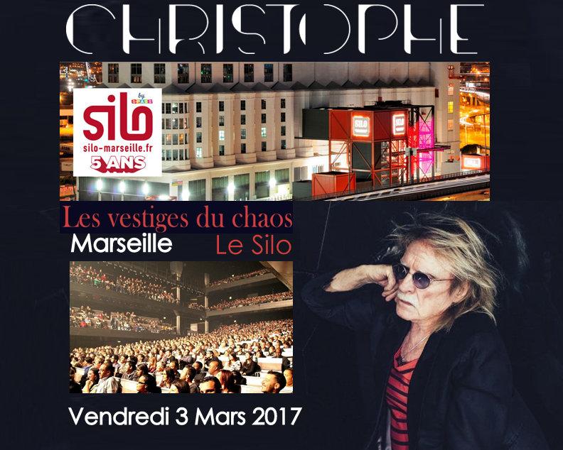 Christophe Concert Vendredi 3 Mars 2017 : Marseille (13) - Le Silo Captur11