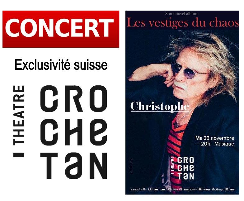 Christophe en concert MONTHEY (SU) • Le Crochetan 22-11-2016   Captur13