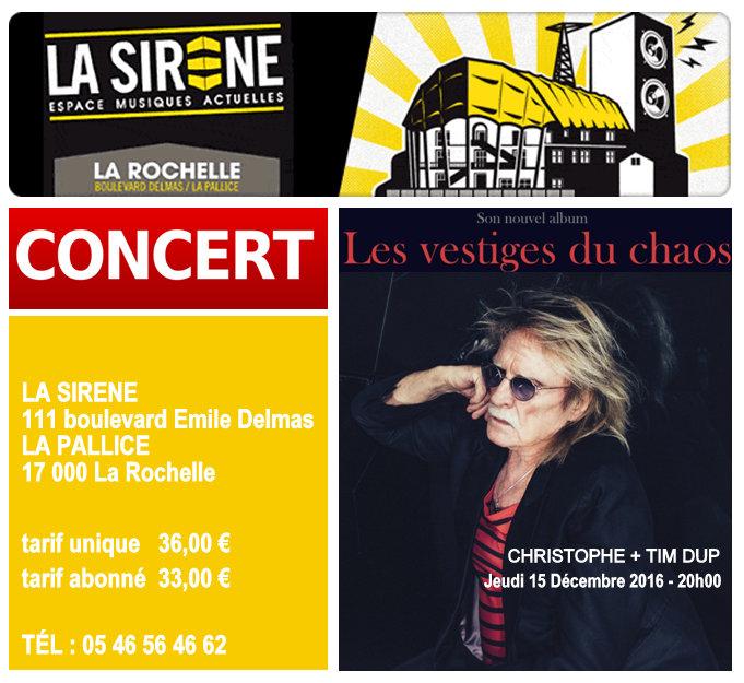 15-12-2016 Christophe concert La Rochelle (17) • La Sirène Captur14