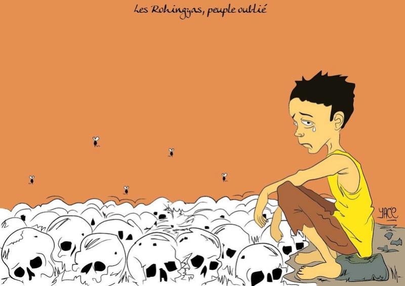 le drame des Musulmans Rohingyas 15110410