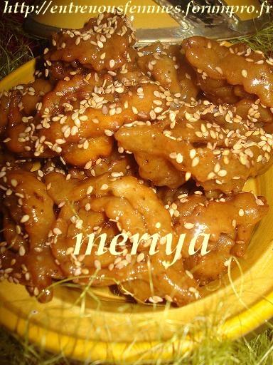 Chbakiya ou Chabbakia ou L'm5ar9a ou L'mkharka ou Grewich marocaine 10f10