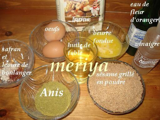 Chbakiya ou Chabbakia ou L'm5ar9a ou L'mkharka ou Grewich marocaine 1f10