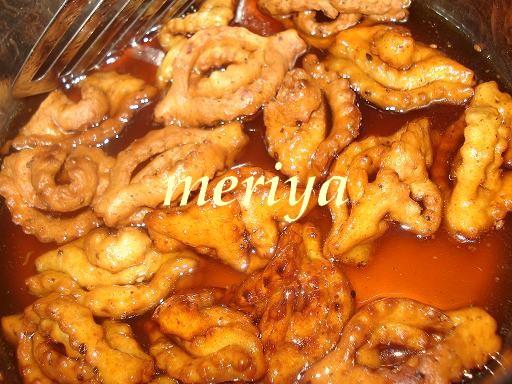 Chbakiya ou Chabbakia ou L'm5ar9a ou L'mkharka ou Grewich marocaine 8f10