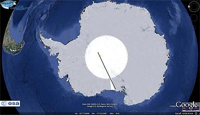 Cryosat 2 - Etude de la cryosphère (ESA) - Page 2 Antarc10