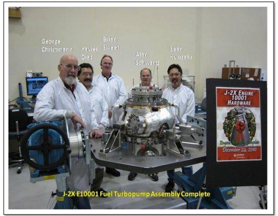 Développement du moteur J-2X J-2x10