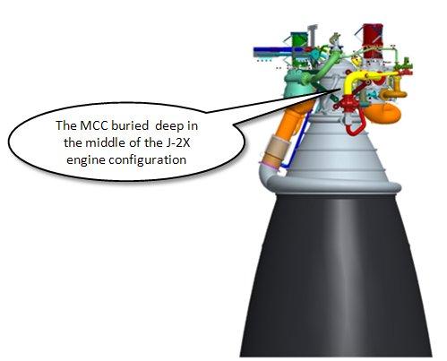 Développement du moteur J-2X Mcc210