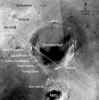 Opportunity va explorer le cratère Endeavour - Page 7 Orbit10