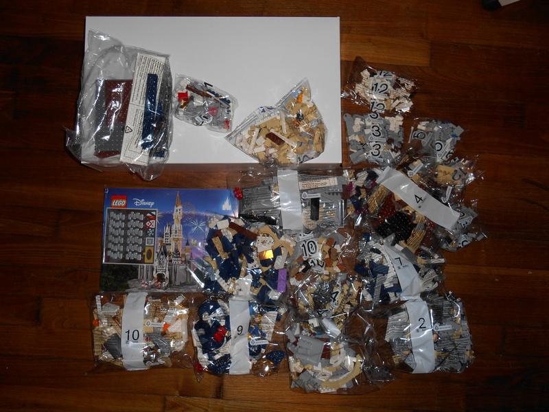 LEGO 71040 Chateau Disney Dscn3929
