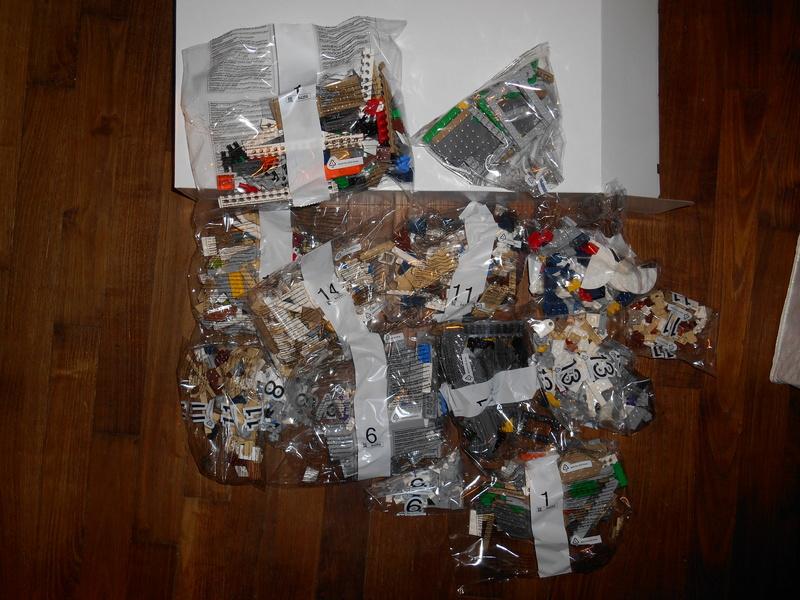 LEGO 71040 Chateau Disney Dscn3930