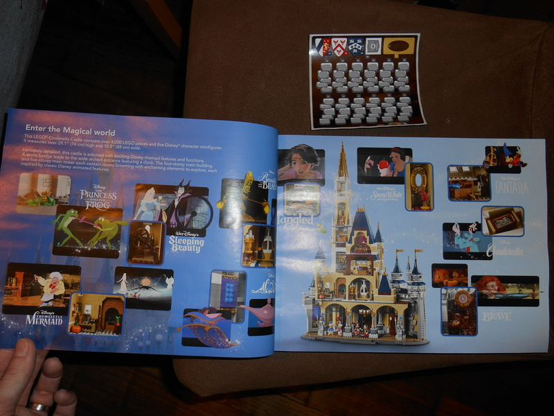 LEGO 71040 Chateau Disney Dscn4011