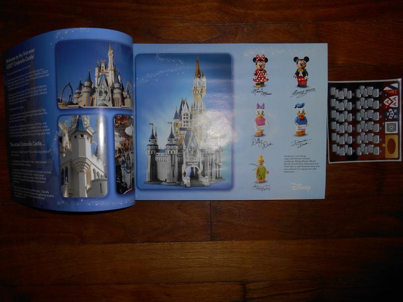 LEGO 71040 Chateau Disney Dscn4014