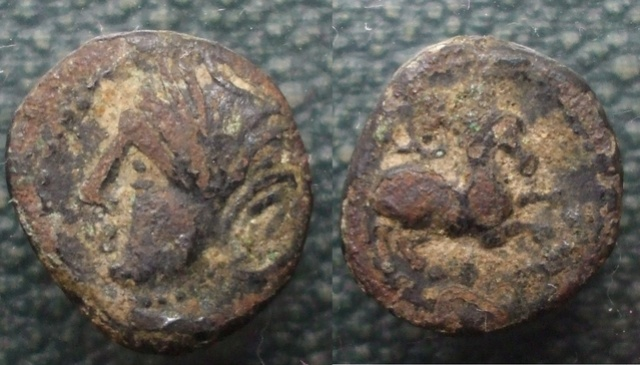 Bronze gaulois (?) au cheval Bronze12