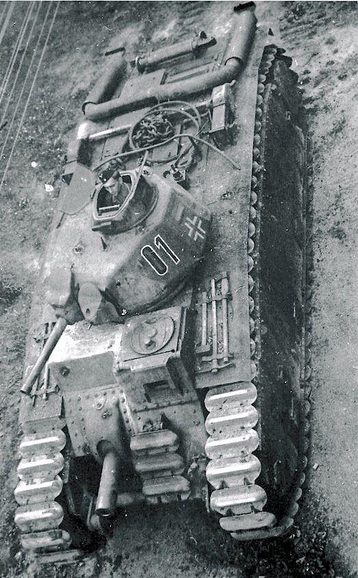 Char B1 Armée Française de 1944 6e56e610