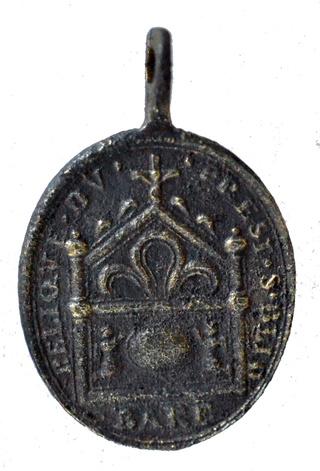 Medalla de San Amable / Relicario de Billion s. XVIII St_ama11