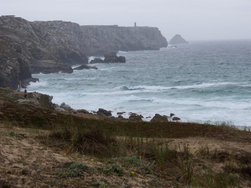 plage Penhir  un jour de pluie d'aout  Img_3312