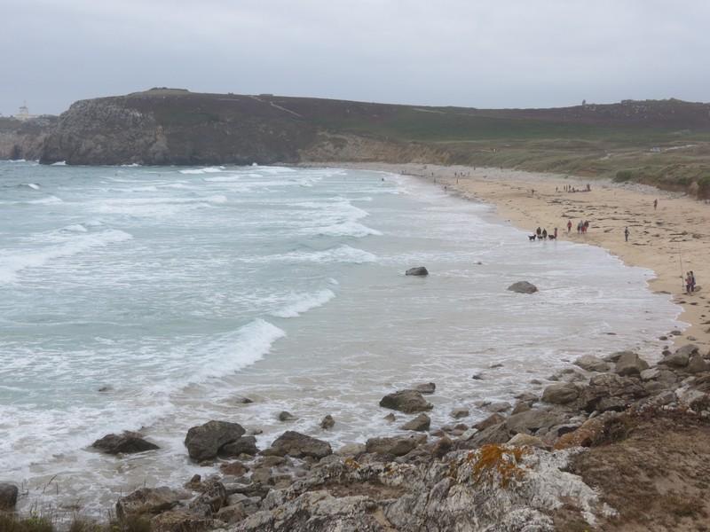 plage Penhir  un jour de pluie d'aout  Img_3321