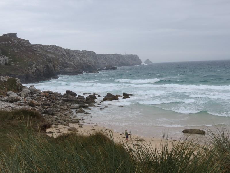 plage Penhir  un jour de pluie d'aout  Img_3325