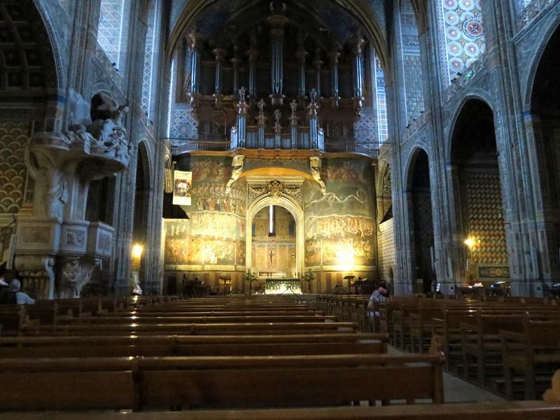 albi  ,sa cathédrale à découvrir Img_4910
